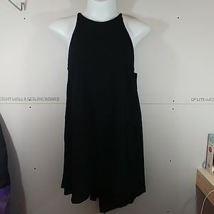 Mossimo Solid Black Dress